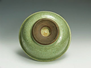 Foot-rim 18th C. Chinese Celadon Plate