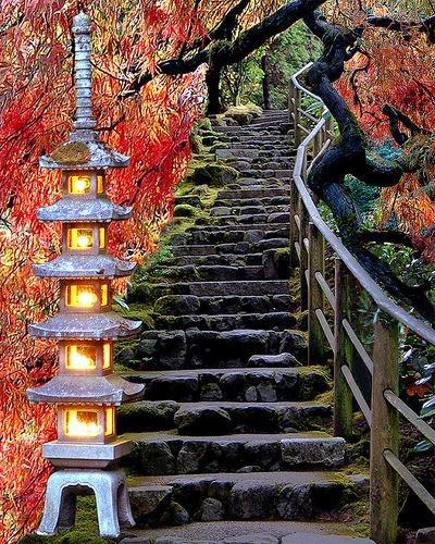 japonya, Çin, zen bahçesi, budizm, doğa