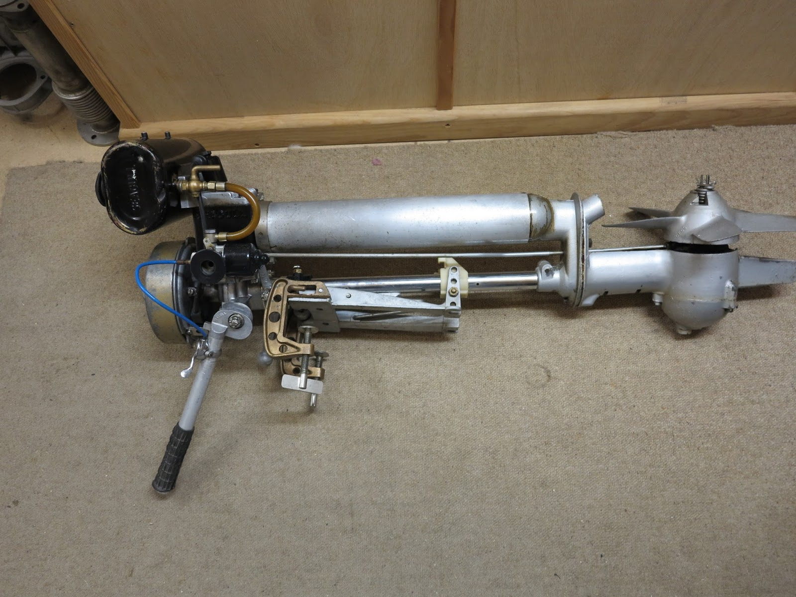 Ckd boats roy mc bride british seagull outboard motor for Seagull outboard motor value