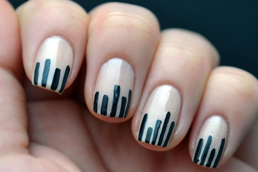 Glitter And Gloss Nails Bar Graph