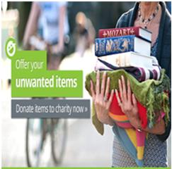 Donate unwanted items