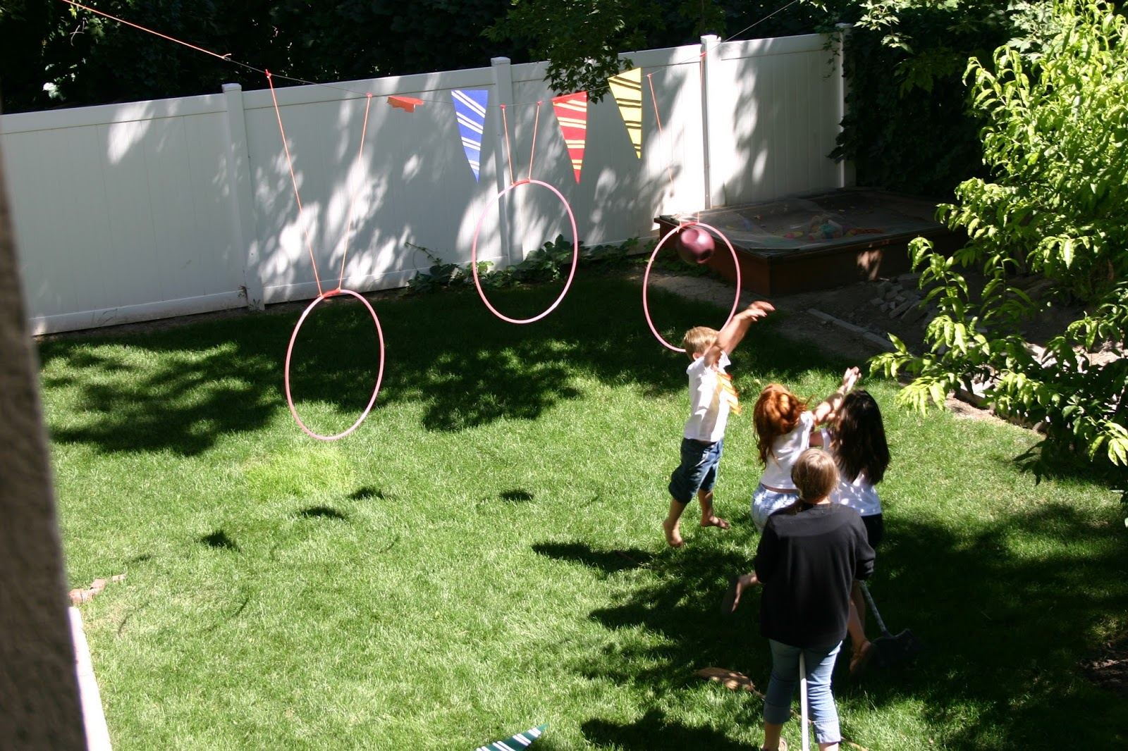 Puddle Wonderful Learning Harry Potter Party Quidditch Game