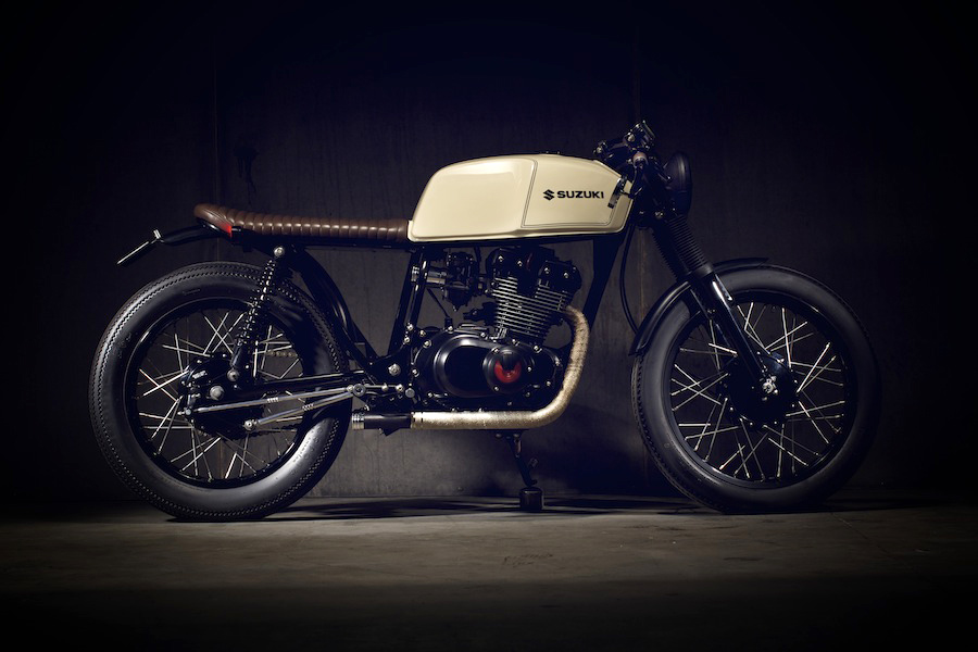 Fabuleux Pop Bang Suzuki GSX250 ~ Return of the Cafe Racers HB11