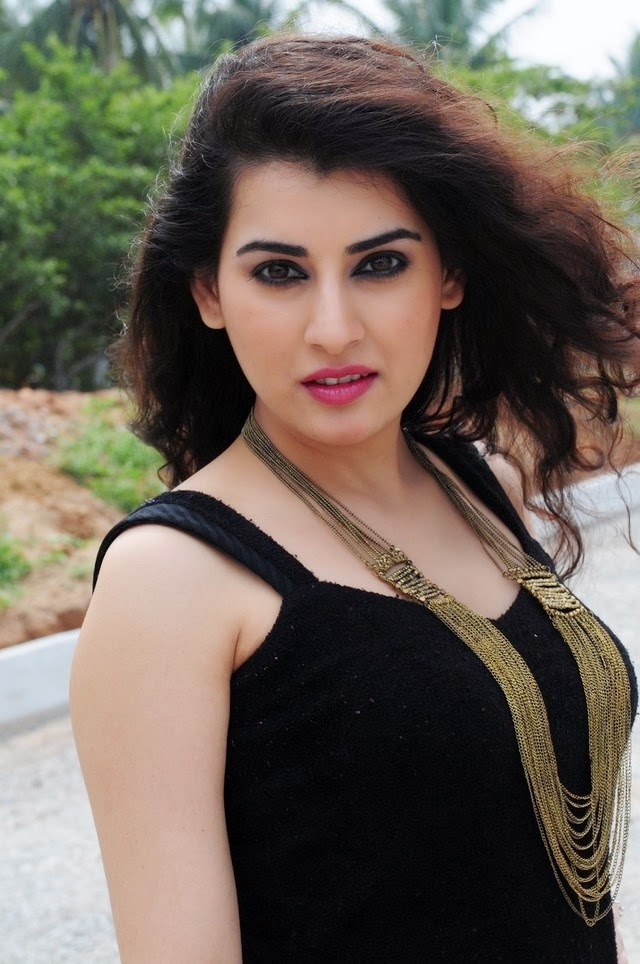 Archana In Black Dress New Hot Photos