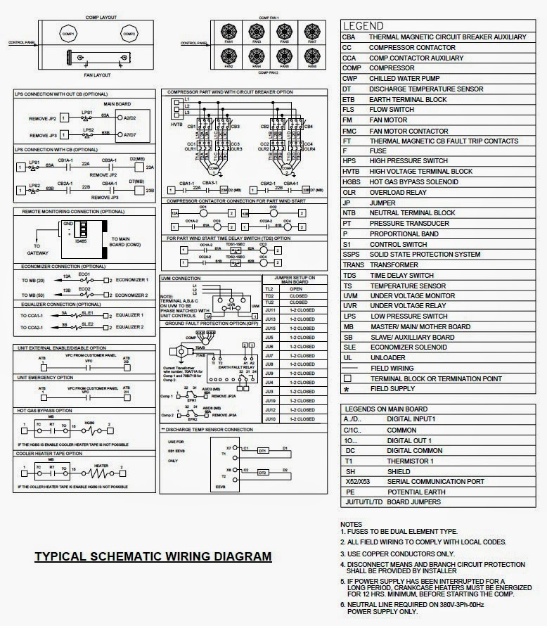 chiller electrical wiring diagrams for air conditioning systems part part winding start compressor wiring diagram at webbmarketing.co