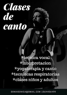 CLASES DE CANTO BY SONIA CHAMMAH