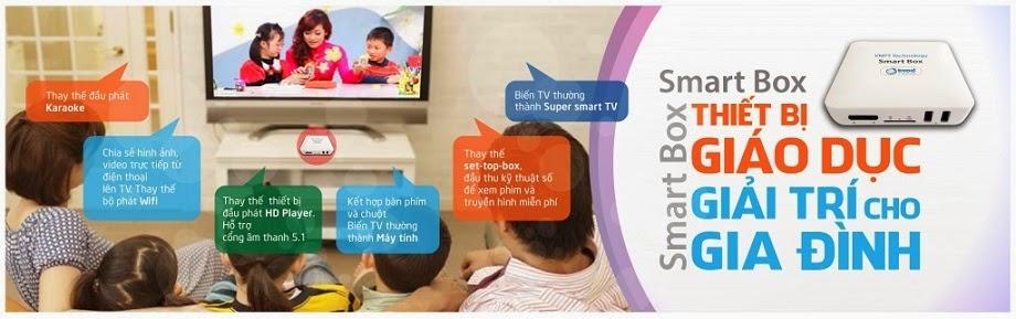 VNPT SmartBox tính năng hữu ích giá rẻ