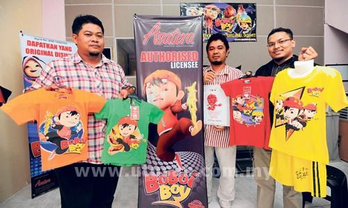 BOBOIBOY, Gopal, Ying dan Ya Ya antara watak utama dalam siri animasi ...