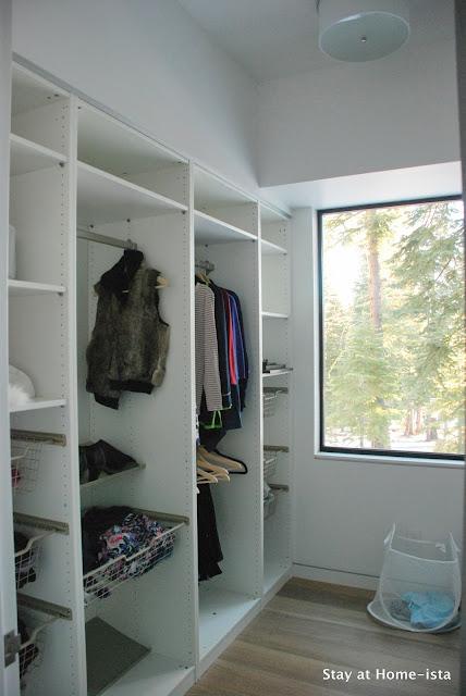 Ikea Pax system built into a closet