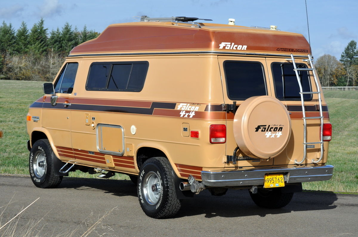 Daily Turismo Go Anywhere Motorhome 1989 Chevrolet G20