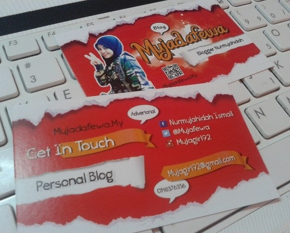 sepetang bersama blogger 2014, kenangan sbb2014, kad blogger, review kad blogger sheda uzu