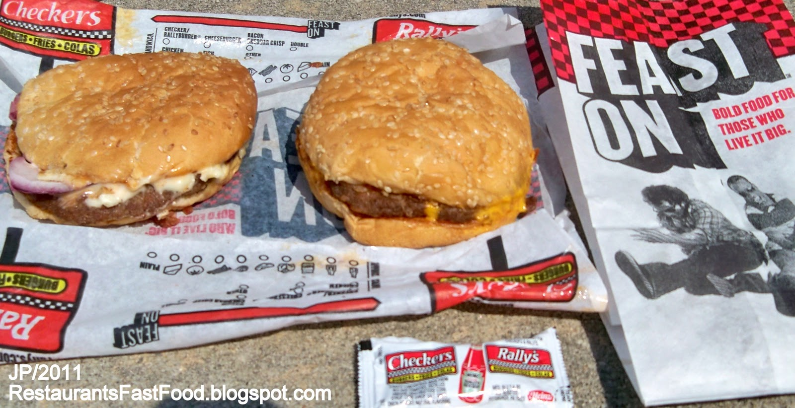 Checkers Fast Food Restaurant Menu