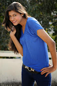 Sneha Tagore Photo shoot in Blue-thumbnail-16