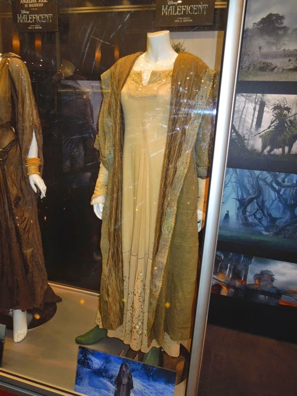 Original Princess Aurora Maleficent movie costume