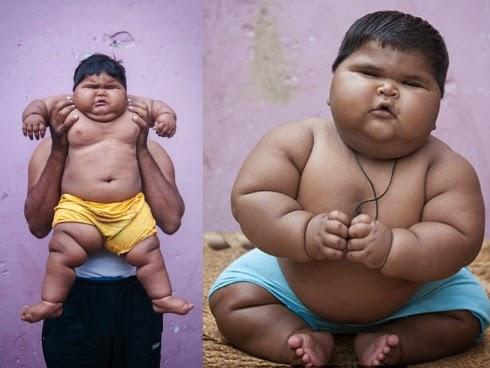 Fuhh Bayi 10 bulan berat 19 kg