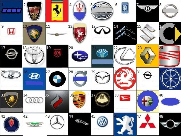2013 car logos and names pictures