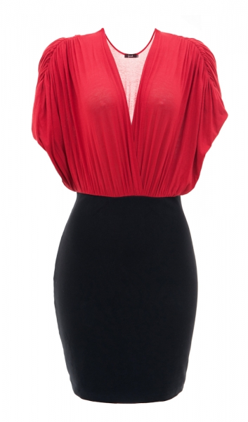 VEST.+verm+e+preto+Preta+Gil Plus Size fashion style a la PRETA GIL