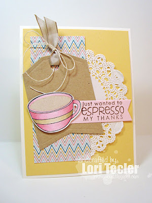 Espresso My Thanks card-designed by Lori Tecler/Inking Aloud-stamps and dies from Reverse Confetti