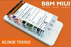 Download BBM Mod MIUI Clone V2 Based BBM Official 2.7.0.23 Terbaru 2015