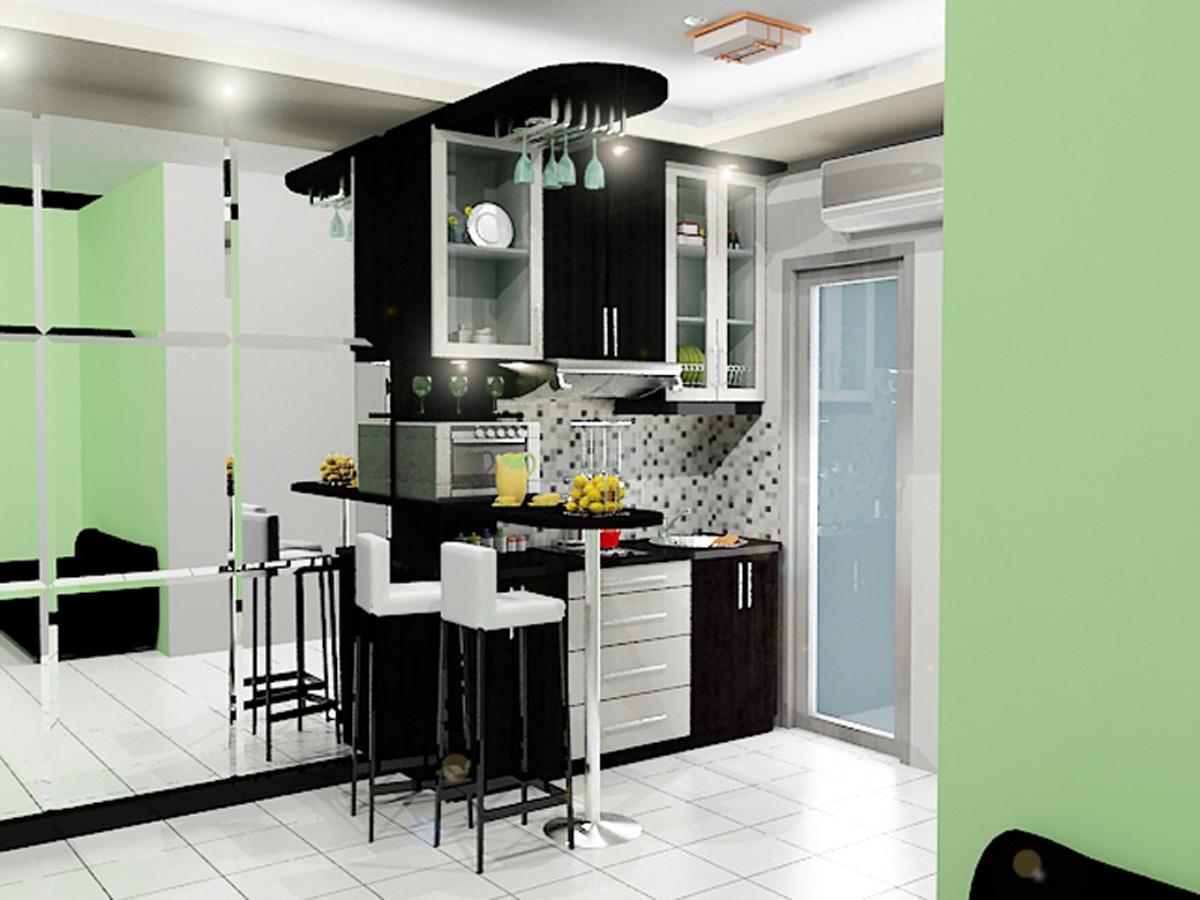 Kitchen Set Apartemen Dian Interior Design
