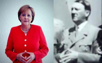 Angela Merkel: Hitler's Daughter