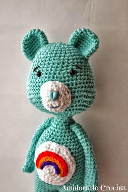 Amigurumi Care Bears Pattern : 2000 Free Amigurumi Patterns: Free Care Bear Amigurumi ...