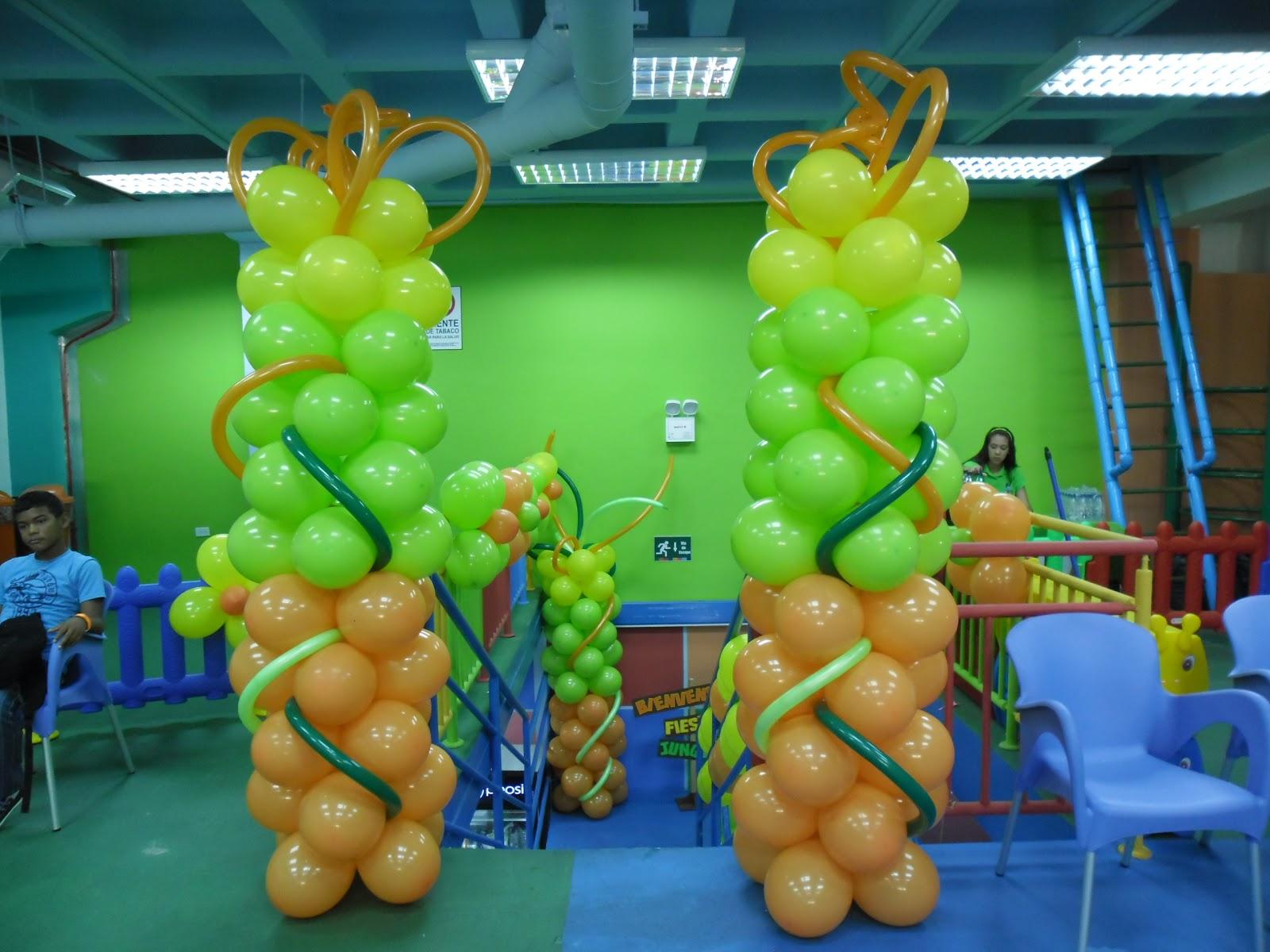 Payasita caramelo decoracion con globos for Decoracion de globos para fiestas infantiles paso a paso
