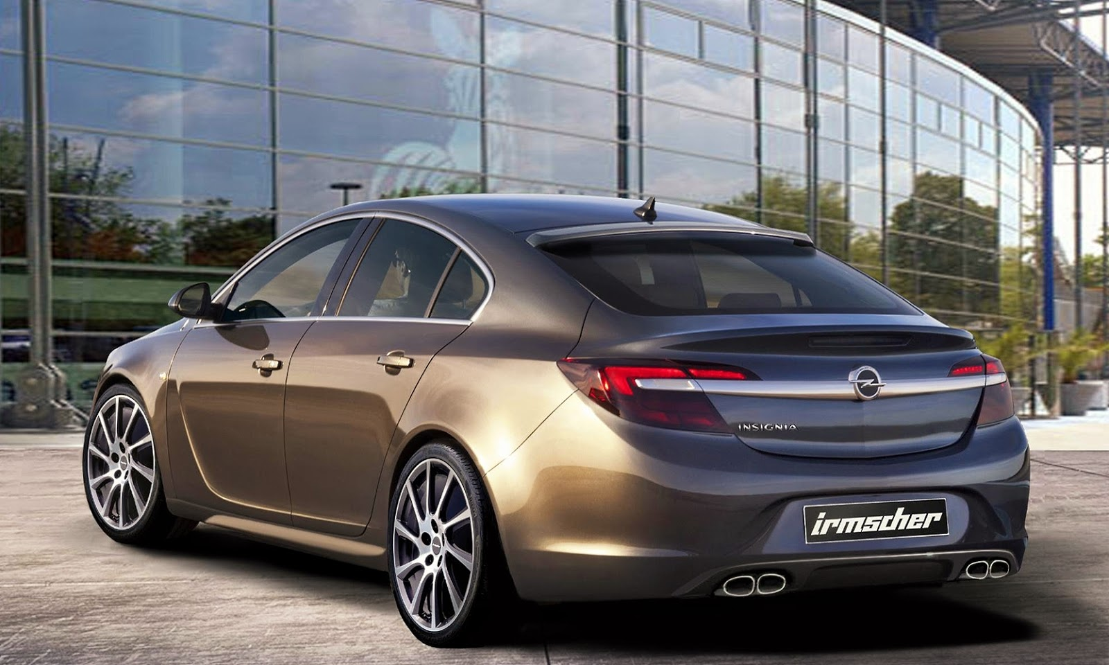 Irmscher veredelt Opel Insignia Facelift | autofilou