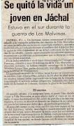 30 AÑOS DE LA GUERRA DE MALVINAS. 30 AÑOS DE MENTIRAS