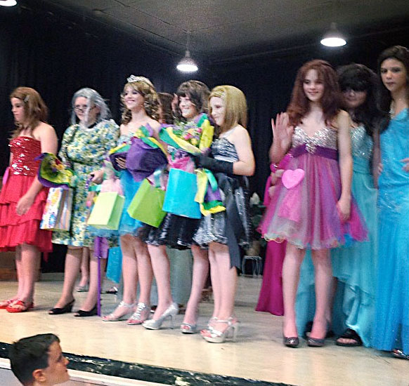 School Womanless Beauty Pageant