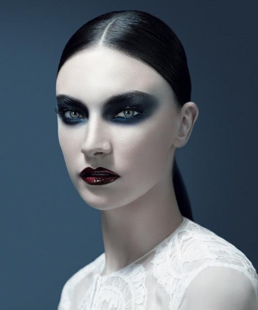 Maquiagem pálida Halloween