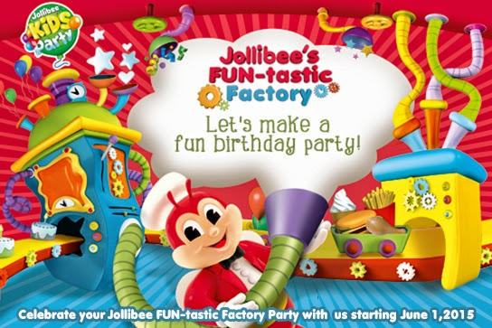 Jollibee Party theme: Fun-tastic Factory