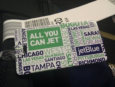 Getting ready to Jet Blue with Blue Pass