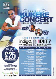 IYANYA LIVE IN LONDON & MANCHESTER!
