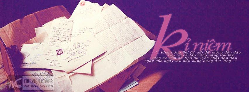 Ảnh bìa kỷ niệm với những lá thư xưa