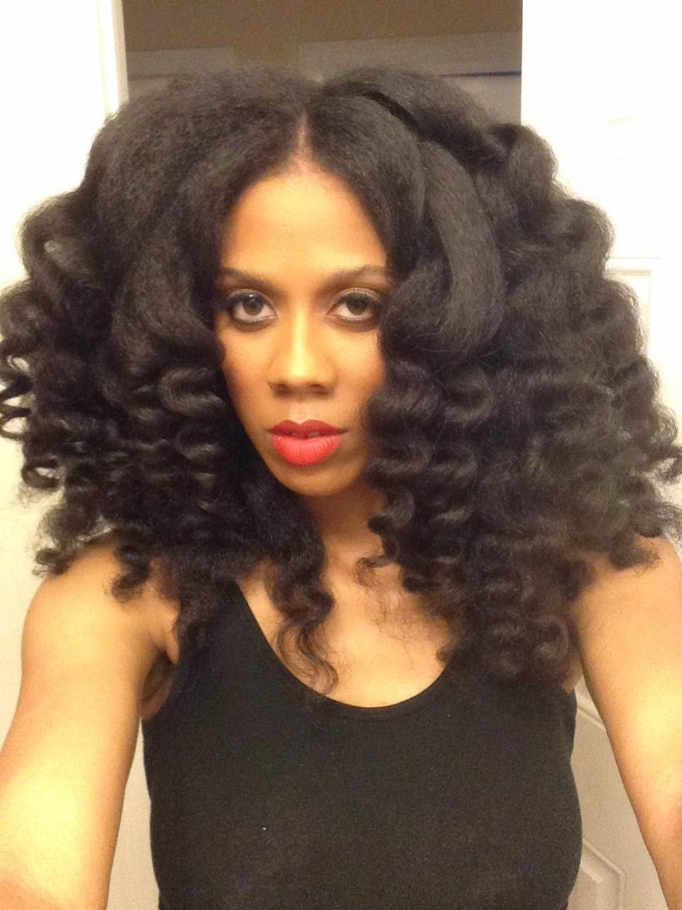 Curling Wand Tutorial For Natural Hair Curlynikki Natural Hair Care