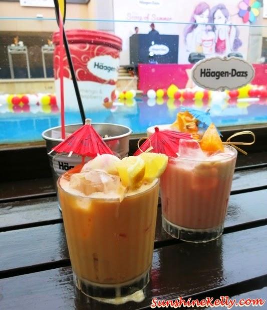 Haagen Dazs, Haagen Dazs Scoop of Summer, Beach Party, Luna Bar, Haagen-Dazs Mango Raspberry, Luscious Midsummer, Tropical Passion