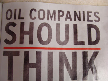 Oil companies should think ...