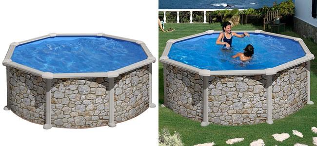 Cinco modelos de piscinas baratas bonnett for Piedras jardin baratas