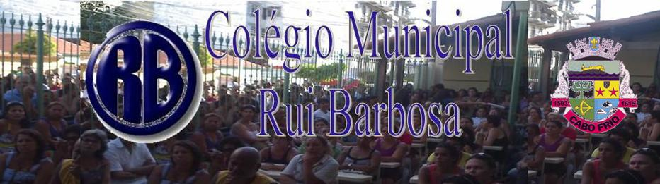 Blog Pedagógico do Colégio Municipal Rui Barbosa