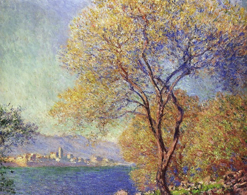 Art artists claude monet part 18 1888 1889 for Monet paintings images