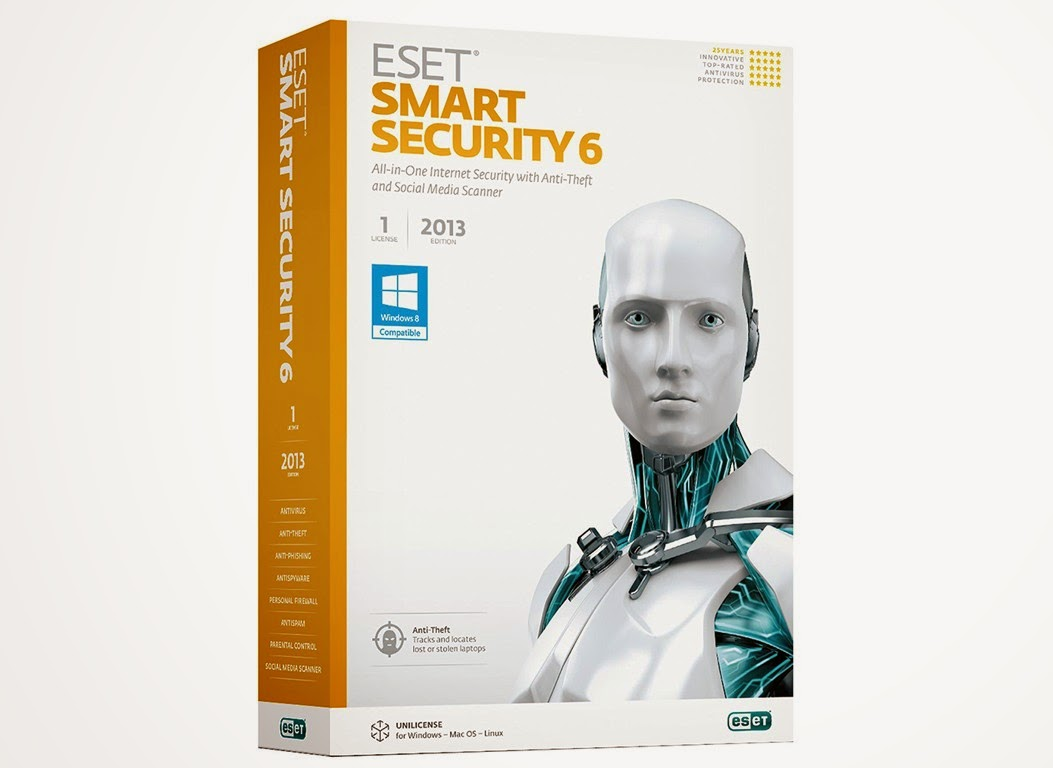 Eset Smart Security 6 full with Activation key
