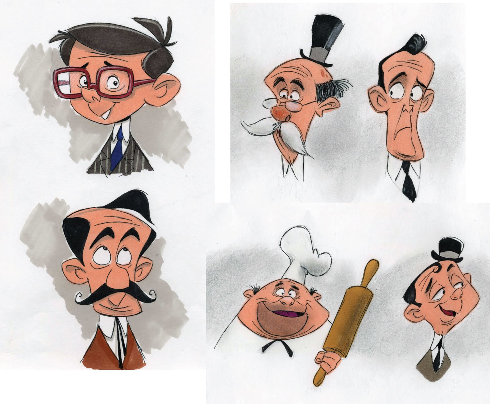 Character Design Site : Animationholics designs character