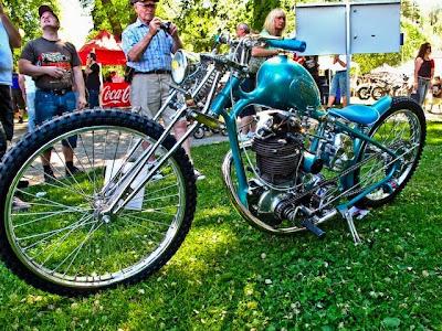 custom bike building championship in Norrtälje 2011