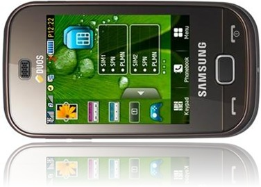 Samsung B5722 Latest touchscreen phone with dualsim