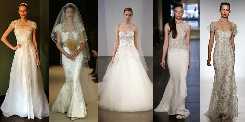 Spring Summer Wedding Dresses Fashion Trends 2014