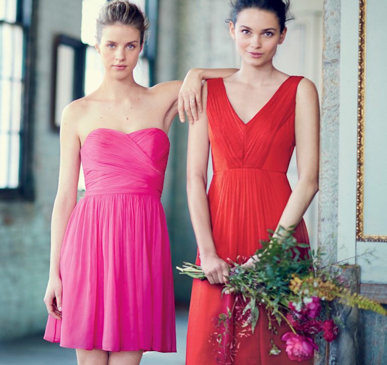 The Arabelle Dress And Louisa In Silk Chiffon