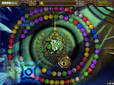 Zuma Deluxe Game screenshots