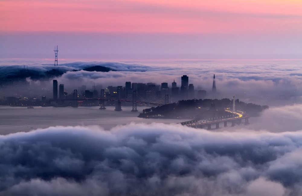 The 100 best photographs ever taken without photoshop - A ghost town, San Francisco, USA