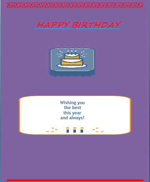 Birthday Invitation Template ,